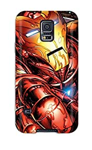Josie Blaser's Shop New Style Case Cover Iron Man Compatible With Galaxy S5 Protection Case 6397595K82877364