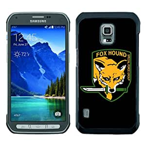 Newest Samsung Galaxy S5 Active Case ,Metal Gear Solid Black Samsung Galaxy S5 Active Screen Phone Case Popular Fashion And Durable Designed
