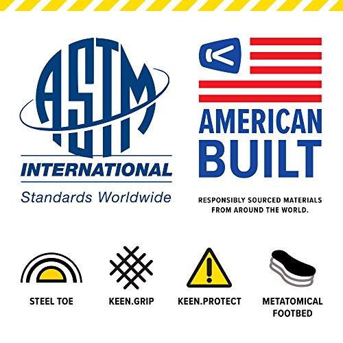KEEN Utility Men's Braddock Low Steel-Toed Boot,Black/Bossa Nova,10.5 D US by KEEN Utility (Image #2)