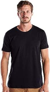 product image for US Blanks Men's 4.3 Oz. Short-Sleeve Crewneck XL Black