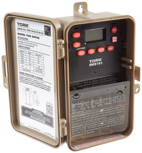 EWZ Series Multipurpose Control Astronomic 7 Day Time Switch, 120-277 VAC Input Supply, 1 Channel, SPST Output Dry (277v Time Switch)