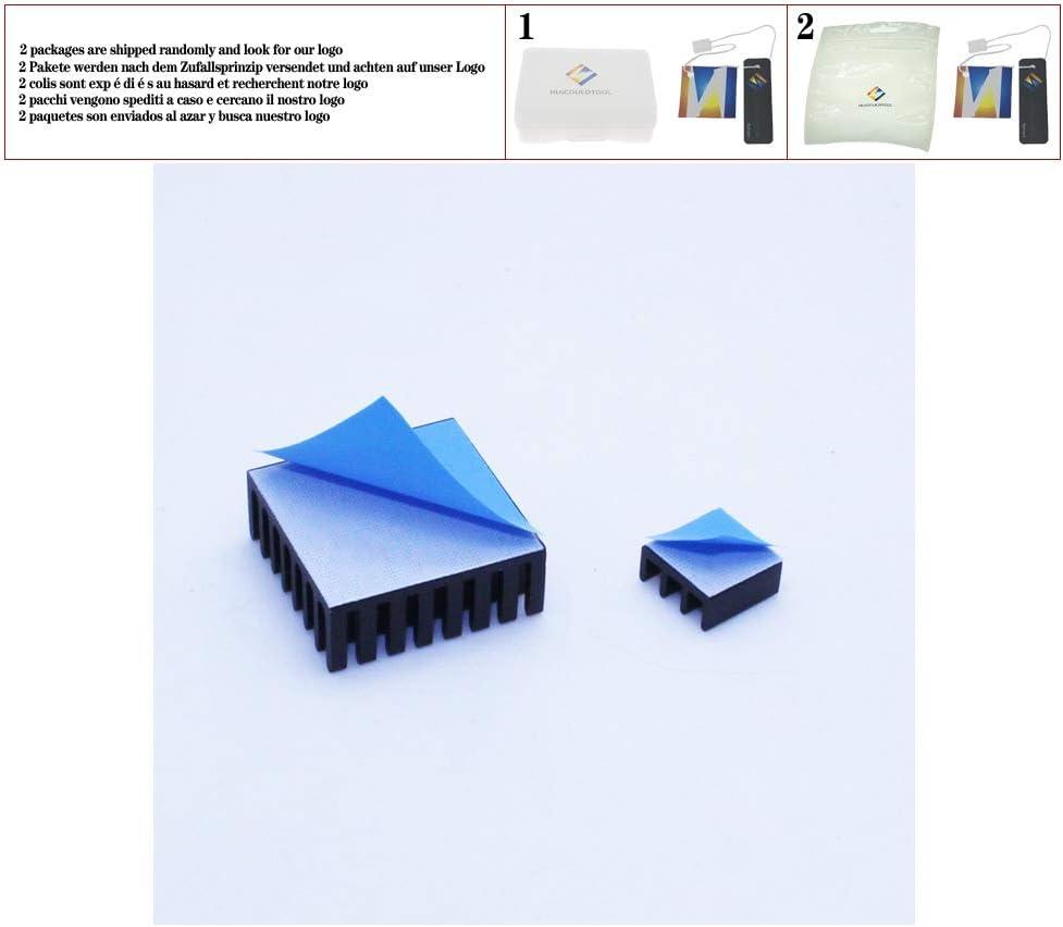 huicouldtool 30 pz//Lotto 40x40mm Termoconduttivo Adesivo Transfer Nastri Pad Termico Nastro Biadesivo per radiatore del radiatore