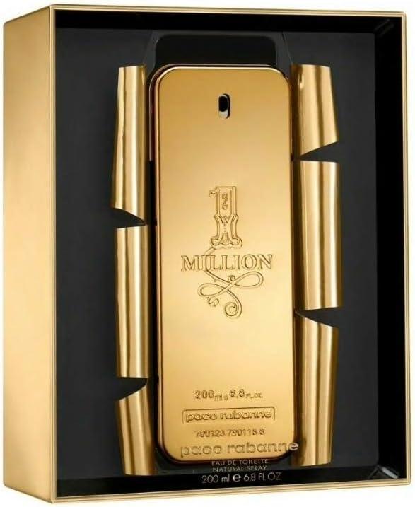 Paco Rabanne 1 Million Edt Vapo 200 Ml 1 Unidad 200 g: Amazon.es: Belleza