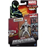 Marvel Legends 2012 Series 2 Action Figure SpiderMan White Suit Variant Arnim Zola BuildAFigure Piece NOT INCLUDED
