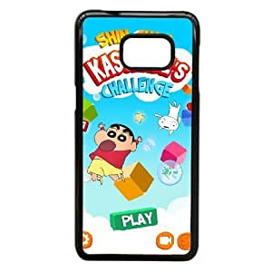 Personalized Durable Cases Samsung Galaxy Note 5 Edge Cell Phone Case Black Crayon Shin chan Uwkai Protection Cover