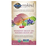 Garden of Life Mykind Organics Multivitamin-Women's Multi 40+, 60 Count