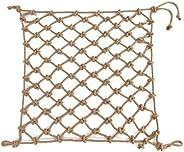 Hemp Rope Net Climbing Net Rope Netting Climbing, Climbing Net for Kids Climb Wall Cargo Playground Rock Tree