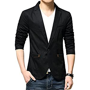 Juseesij 2017 New Arrival Blazer Men Autumn Blazer Men Famous Cotton Slim Fit Good Quality Men