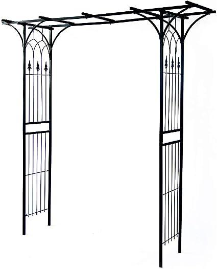 QLLL Arco del Jardin, Arco Resistente del Arte del Hierro ...