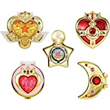 Gashapon Sailor Moon Transforming Compact 2 Set
