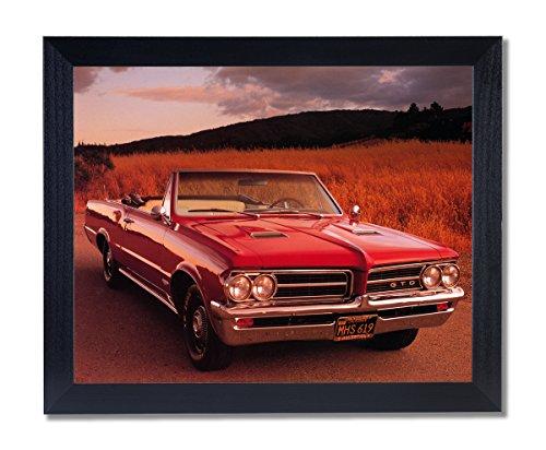 1964 Pontiac GTO Convertible Car Picture Black Framed Art ()
