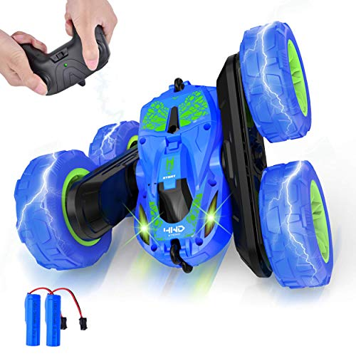 🥇 Remote Control Car 4WD RC Cars 360° Double Flips Stunt Car