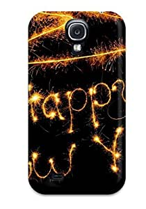 Galaxy S4 Case Cover Skin : Premium High Quality Happy New Year Case