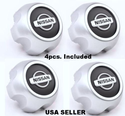 new-2000-2004-nissan-xterra-frontier-wheel-center-hub-cap-40315-7z100-set-of-4
