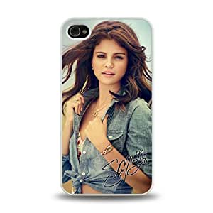 iPhone 4 4S case protective skin cover with pop star Selena Gomez Come & Get It poster design #17