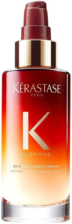 Kerastase 8H Magic Night Hair Serum for Unisex 3.04 oz Serum, 90 ml