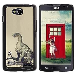 For LG OPTIMUS L90 / D415 Case , Monster Kraken Destruction - Diseño Patrón Teléfono Caso Cubierta Case Bumper Duro Protección Case Cover Funda