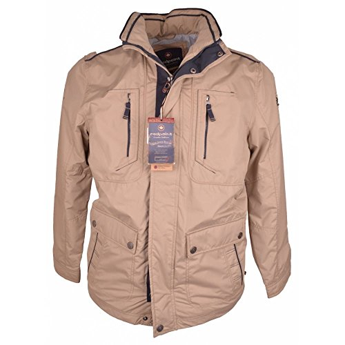 Summer RED Casual 48R Beige Jacket Lightweight Redpoint POINT qaawxtO1