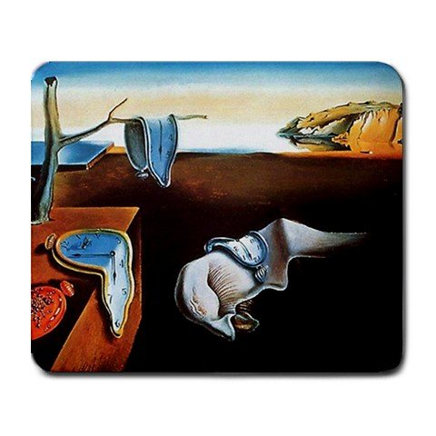 1 X the persistence of memory salvador dali Large Mousepad Mouse Pad Great Gift Idea by MYDply