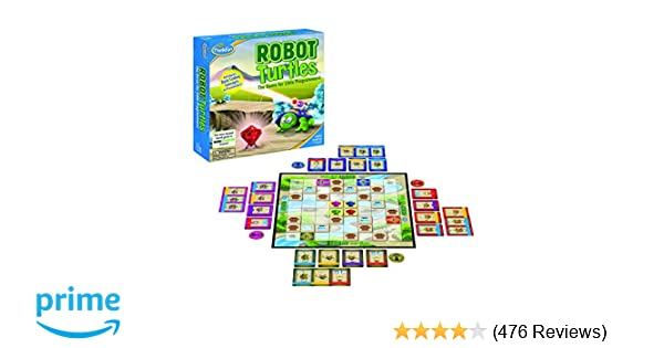 Amazon Think Fun Robot Turtles Stem Toy And Coding Board Game