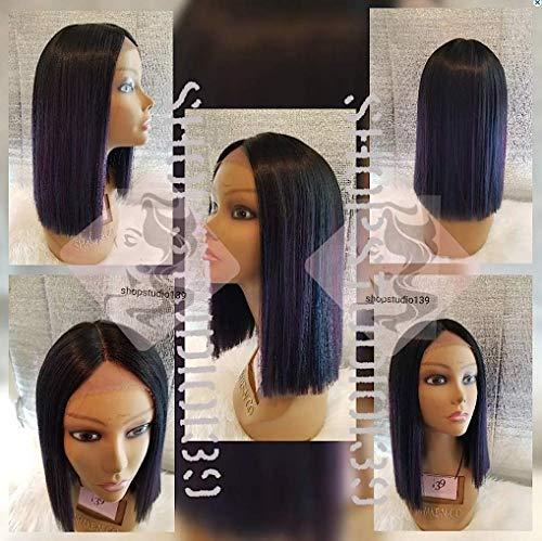 Sexy Human blend hair wig Human hair blunt