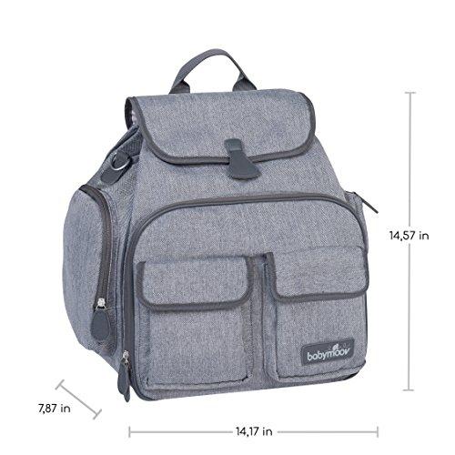 Babymoov Glober Bag A043559 - Bolso cambiador, color rojo Gris