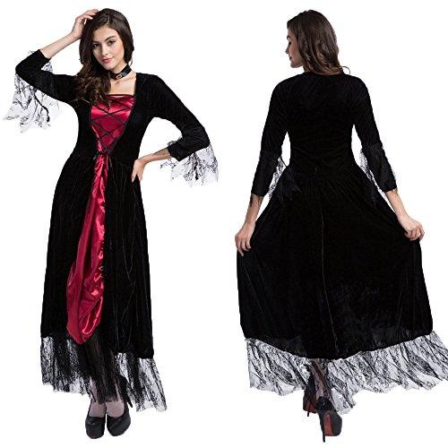 Sexy Deluxe Vampiress Costumes (Vampire Costume Women - Deluxe Adult Sexy Vampiress Halloween Lady Costume)