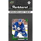 Toronto Maple Leafs 2017 2018 Upper Deck PARKHURST Series Factory Sealed Team Set including Auston Matthews, William Nylander, Calle Rosen Rookie Card Plus
