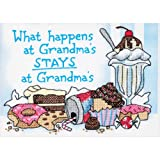 Dimensions Needlecrafts Stamped Cross Stitch, What Happens at Grandma's