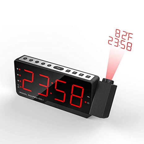 Kalaok Radio Despertador Digital Proyector Radio Reloj ...