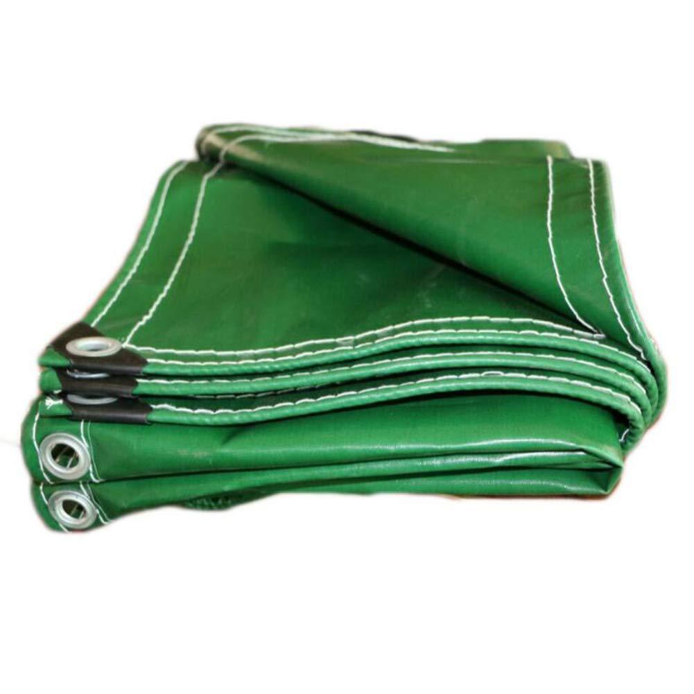 MuMa Plane PVC Grün Verdicken Wasserdicht Regenfest Sonnencreme Schatten Können Besonders Angefertigt (Farbe   Grün, größe   3  5m)