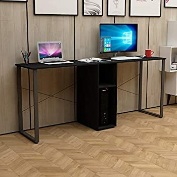 Amazon.com: DlandHome Double Computer Desk 78 Inches Extra