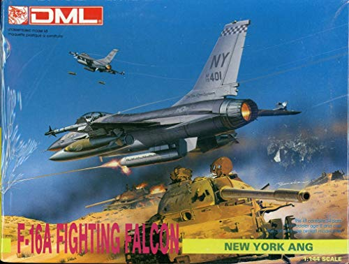 DML Dragon 1:144 F-16A Fighting Falcon New York ANG Model Kit #DS-5 -