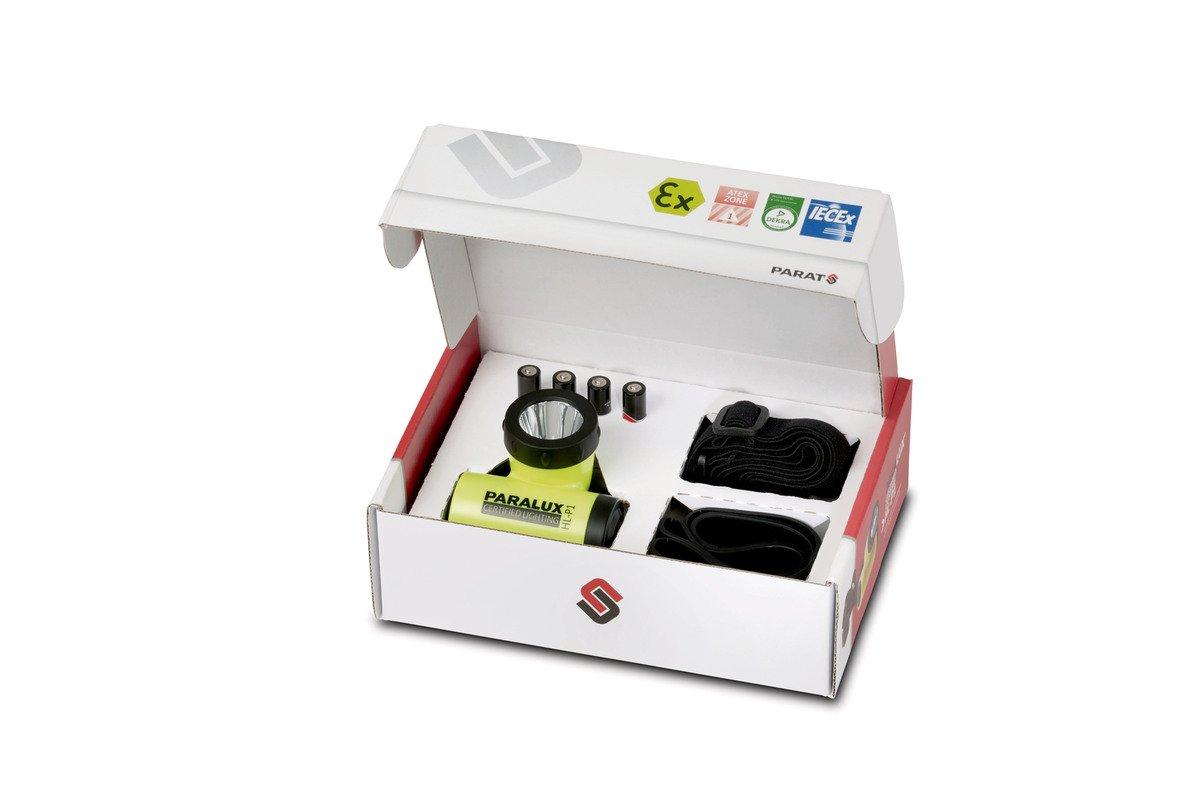 Parat 6.911.254.158 6911254158 Sicherheits-Kopflampe HL-P1, LED, mit EX-Schutz, wasserdicht, gelb PARAT GmbH & Co. KG