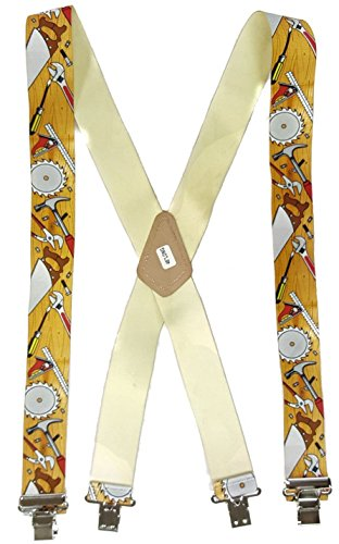 CARPENTER TOOLS - USA MADE CUSTOM SUSPENDERS - 2