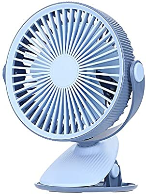 ZUEN Fans Que soplan Aire frío, USB Clip de Ventilador pequeño ...
