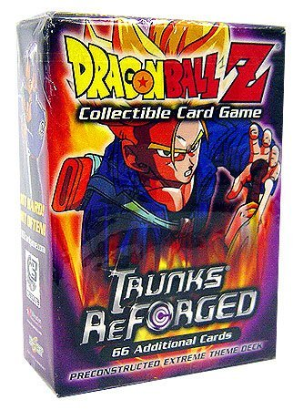Dragonball Z Score Trading Card Game Trunks Reforged Preconstructed Extreme Theme ()