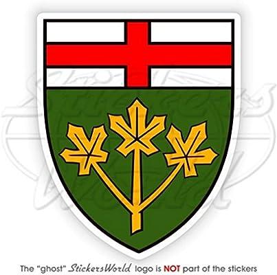 Bumper Sticker en vinyle en Canada Canadien Lesser armoiries de badge /Écusson 90/mm 8,9/cm