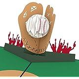 Lovepop Baseball Pop Up Card, 3D Card, Birthday Card, Greeting Card, Sports Card