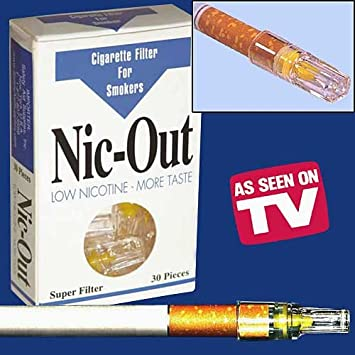 Nic Out Cigarette Filters Holders Stop Smoking Aid Reduce Tar and Nicotine