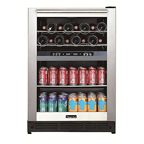 (Dual-Zone Built-In Wine and Beverage Center )