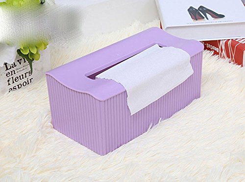 Items Tiki Tissue Box Cover - Comfspo Plastic Tissue Box Napkin Holder Home Decor