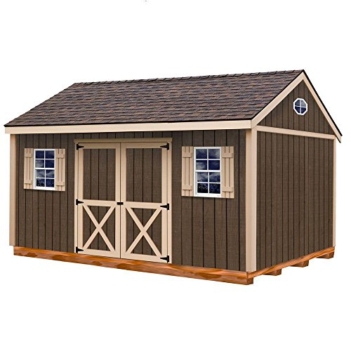 Best Barns Brookfield 12' X 16' Wood Shed Kit