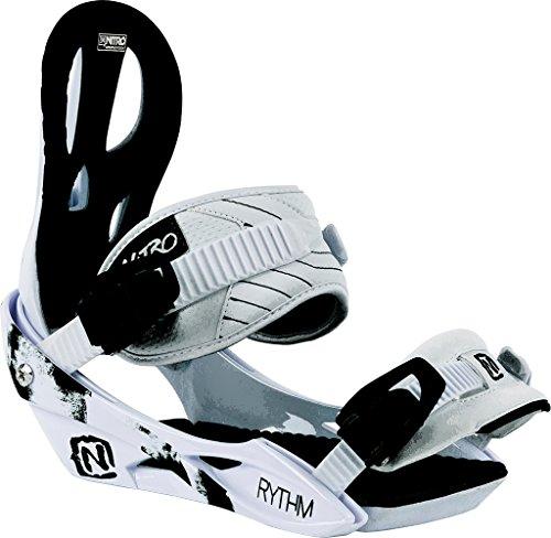Nitro Snowboards Damen Bindung Rythm BDG 16, White, M, 1161836330