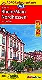 ADFC-Radtourenkarte 16 Rhein/Main Nordhessen 1:150.000, reiß- und wetterfest, GPS-Tracks Download (ADFC-Radtourenkarte 1:150000)
