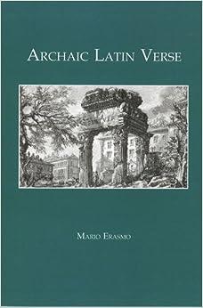 Como Descargar U Torrent Archaic Latin Verse Libro PDF