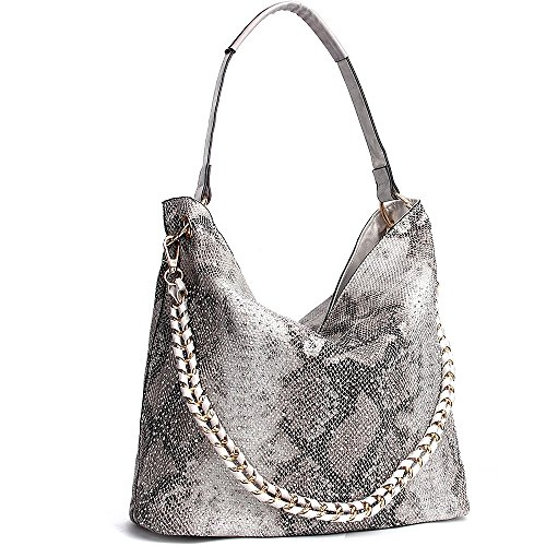 JOYSON Women Handbags Hobo Tote Bags PU Leather Shoulder Bags Fashion Purse - Womens Handbag Braided