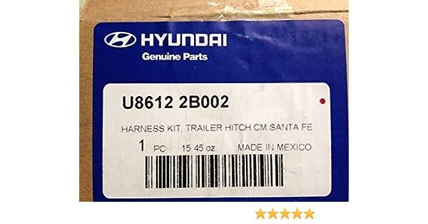 HYUNDAI Genuine U8612-3J002 Tow Hitch Harness