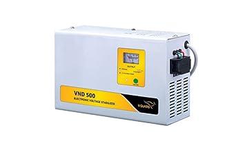 V Guard VND 500 Voltage Stabilizer  Grey  nbsp;