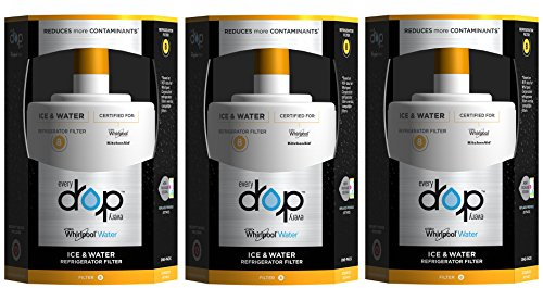 EveryDrop by Whirlpool Refrigerator Water Filter 8 (Pack of 3) by Whirlpool (Image #5)